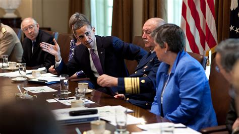 What Is The President S Cabinet by The President Meets With His Cabinet On Bp Spill Quot This