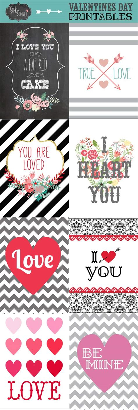 free valentines day printables free valentines day printables sohosonnet creative living
