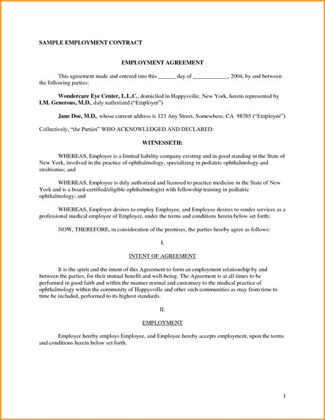 working agreement template best of collection of employee agreement business cards