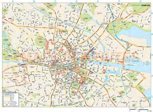 map pdf royalty free dublin city map in illustrator and pdf vector
