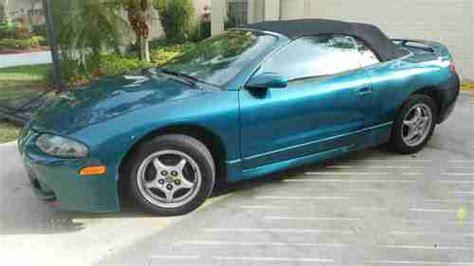 1997 mitsubishi eclipse spyder gs 2 4 liter sohc 16 valve 4 cylinder engine photo 89535520 buy used 1997 mitsubishi eclipse spyder gs convertible 2 door 2 4l new convertible top in