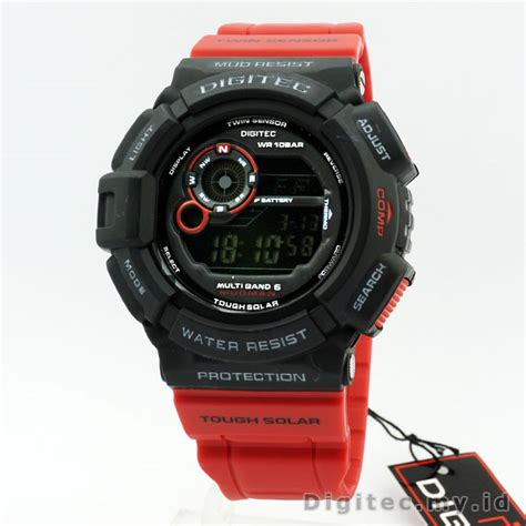 Digitec Dg 2028t Green Original digitec dg 2028t jam tangan sport anti air murah