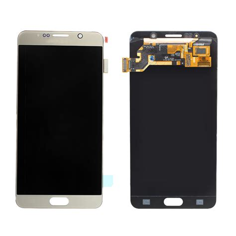 Lcd Galaxy Note 5 grade aaa 100 test gold lcd for samsung galaxy note 5 lcd