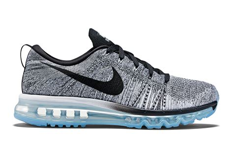 Nike Flyknit Max 2015 nike flyknit air max white cool grey wolf grey black