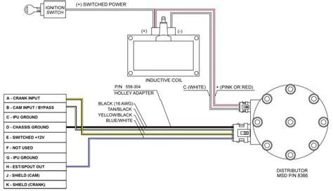 msd 8366 distributor wiring diagram 35 wiring diagram