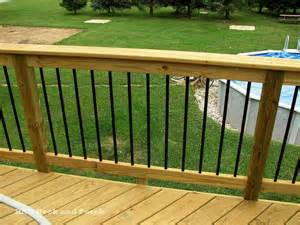 Outdoor Deck Spindles Deck Railing Gallery Hnh Deck And Porch Llc 443 324 5217