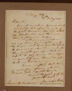 Letter Artifact Remember The Alamo Phil Collins Donates Vast Collection