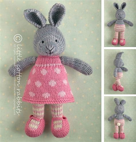 rabbit pattern clothes bunny girl in a dotty dress pattern by julie williams