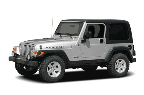 2004 jeep wrangler information