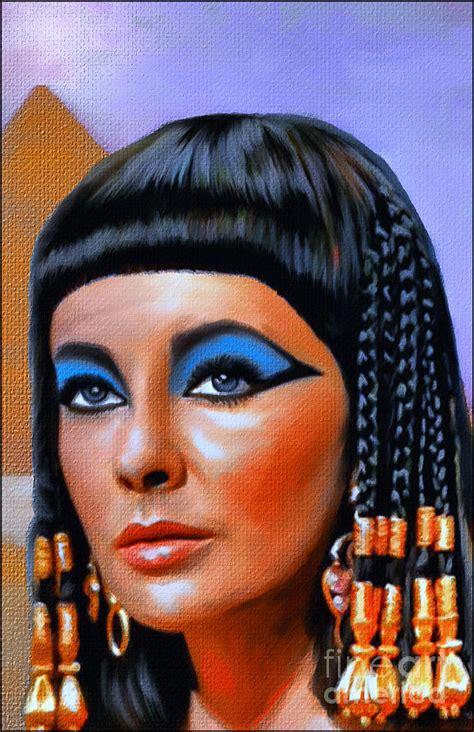 Grid Drawing Online cleopatra painting by andrzej szczerski