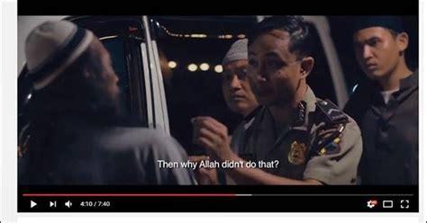 film pendek anti quran polisi unggah film pendek yang menyudutkan islam di