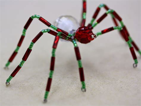 how to get rid of spiders from christmas tree beaded spider tutorial bead world