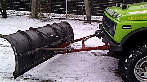 Snow Plow For Suzuki Samurai Pług śnieżny Do Odśnieżania Na Suzuki Samurai Snow
