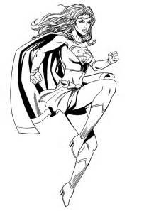 supergirl 32 super 233 ros coloriages 224 imprimer