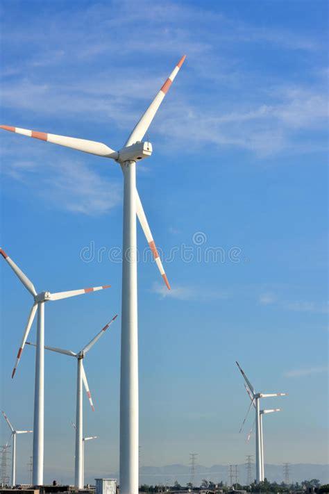 backyard windmill generator windmill generator yard stock image image of concept