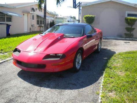 find used 1995 chevrolet camaro ss lt1 corvette engine 5 7