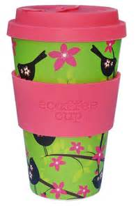 Over The Washer Shelf Bamboo Reusable Eco Coffee Cup Just Fair Trade