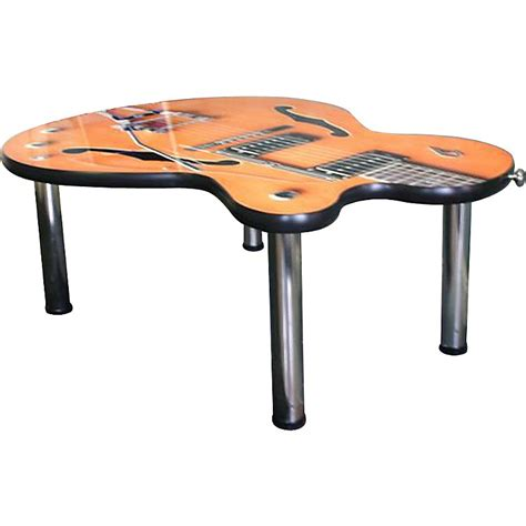 Designer Creation Imperial Guitar Coffee Table Musician Guitar Coffee Table
