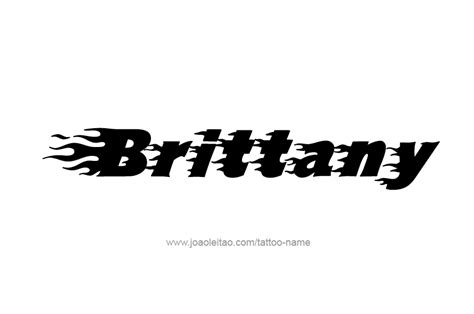 brittany tattoo designs design name 23 png