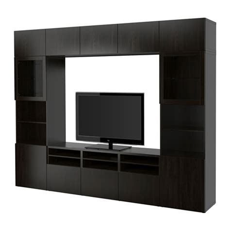 besta tv storage combination best 197 tv storage combination glass doors lappviken