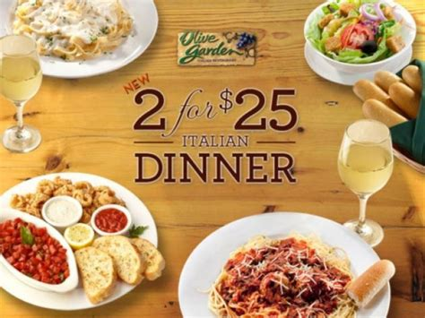 Olive Garden 2 For 20 olive garden 2 for 25 dinner deal ends january 20 foodbeat