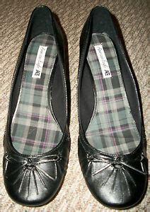 S 12w Sandals by New American Eagle Black Bow Dress Wedge Shoes Womens Size 12w 13 13w
