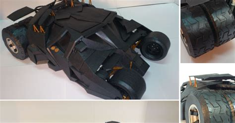 Batman Tumbler Papercraft - batman tumbler papercraft