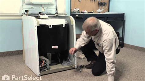 Washer Repair Replacing The Suspension Spring Whirlpool Best Machine Springs