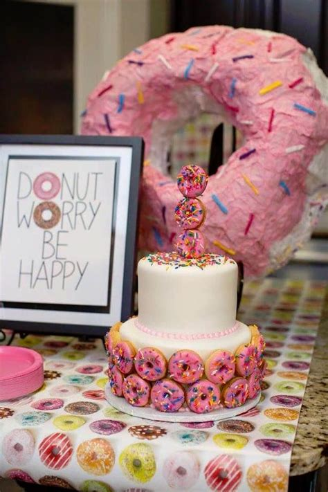 Donut Decorations by 25 Best Ideas About Donut Birthday On