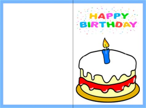 birthday cards to print printable happy birthday card