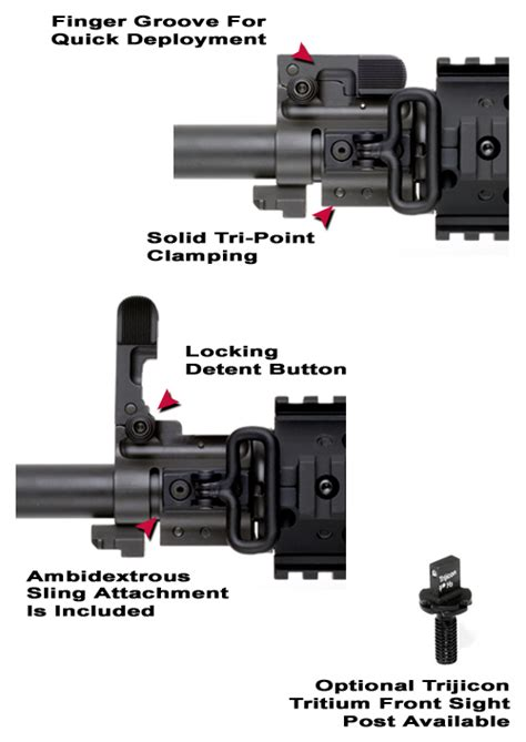ak bolt on gas block front sight ar bolt on flip up front sight ar flip up front sight