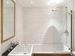 Subway Tile Bathroom Floor Ideas White Subway Tile Bathroom Designs Home Design Ideas