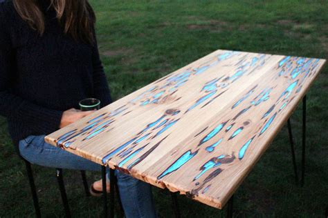 glow in the dark table learn how to make glow in the dark table with
