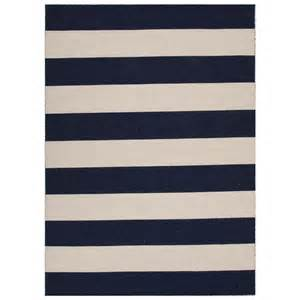 navy striped rug images
