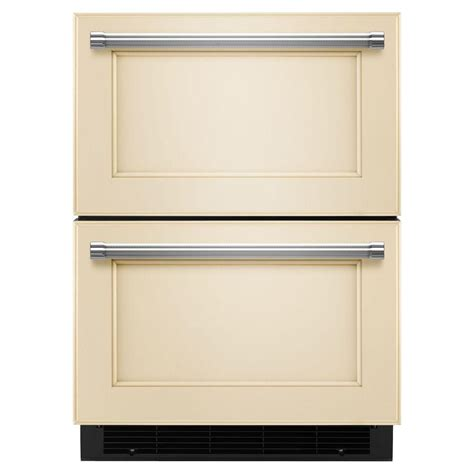 Drawer Dishwasher Home Depot by Kitchenaid 24 In W 4 7 Cu Ft Drawer Freezerless
