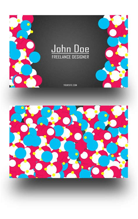 freelance business card template 25 fascinating psd business card templates