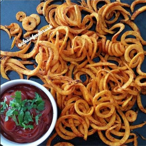 Kitchenaid Spiralizer Curly Fries Curly Sweet Potato Fries Recipe Copycat Arby S Using The