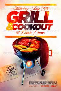 Cookout Flyer Template 19 bbq flyer template psd images bbq flyer