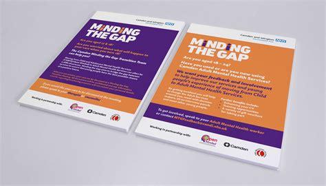 flyer design london flyer design for camden islington nhs foundation trust