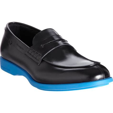 rubber soled loafers sergio rubber sole loafer in black for