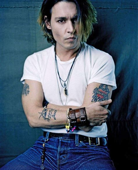 johnny depp tattoo tattoos artist magazine