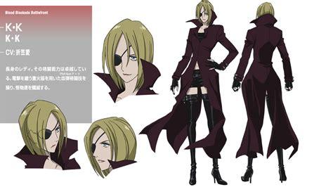 Humm3r Athena Black character tvアニメ 血界戦線 公式サイト