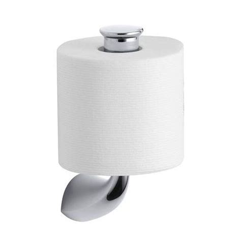 toilet paper holder kohler alteo vertical single post toilet paper holder in