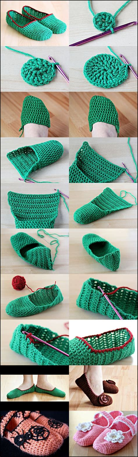 step by step crochet slippers how to crochet slippers step by step crochet and knit