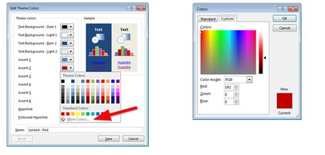 customize themes in ppt how to make powerpoint themes with a custom color palette