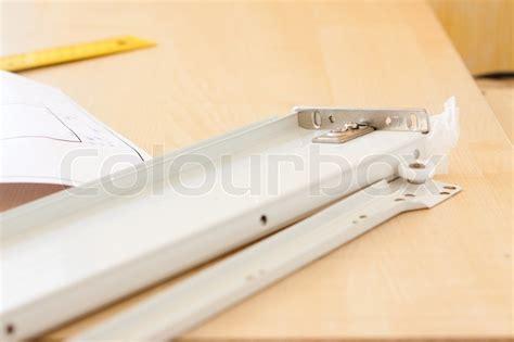 schublade zeichnung schublade detail und technischen zeichnungen stockfoto