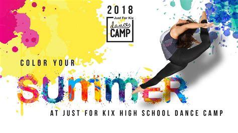 cmp color 2018 just for kix high school c color your summer