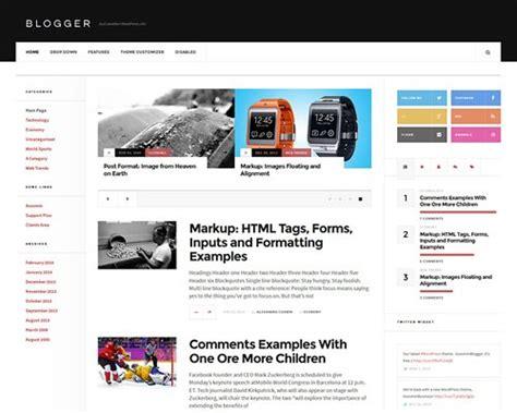 theme blog wordpress responsive 30 best responsive free magazine wordpress themes