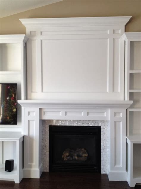 diy built in fireplace surround tv fireplace