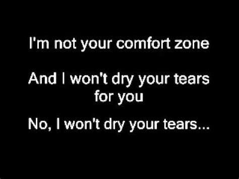 comfort zone lyrics comfort zone cattski lyrics youtube